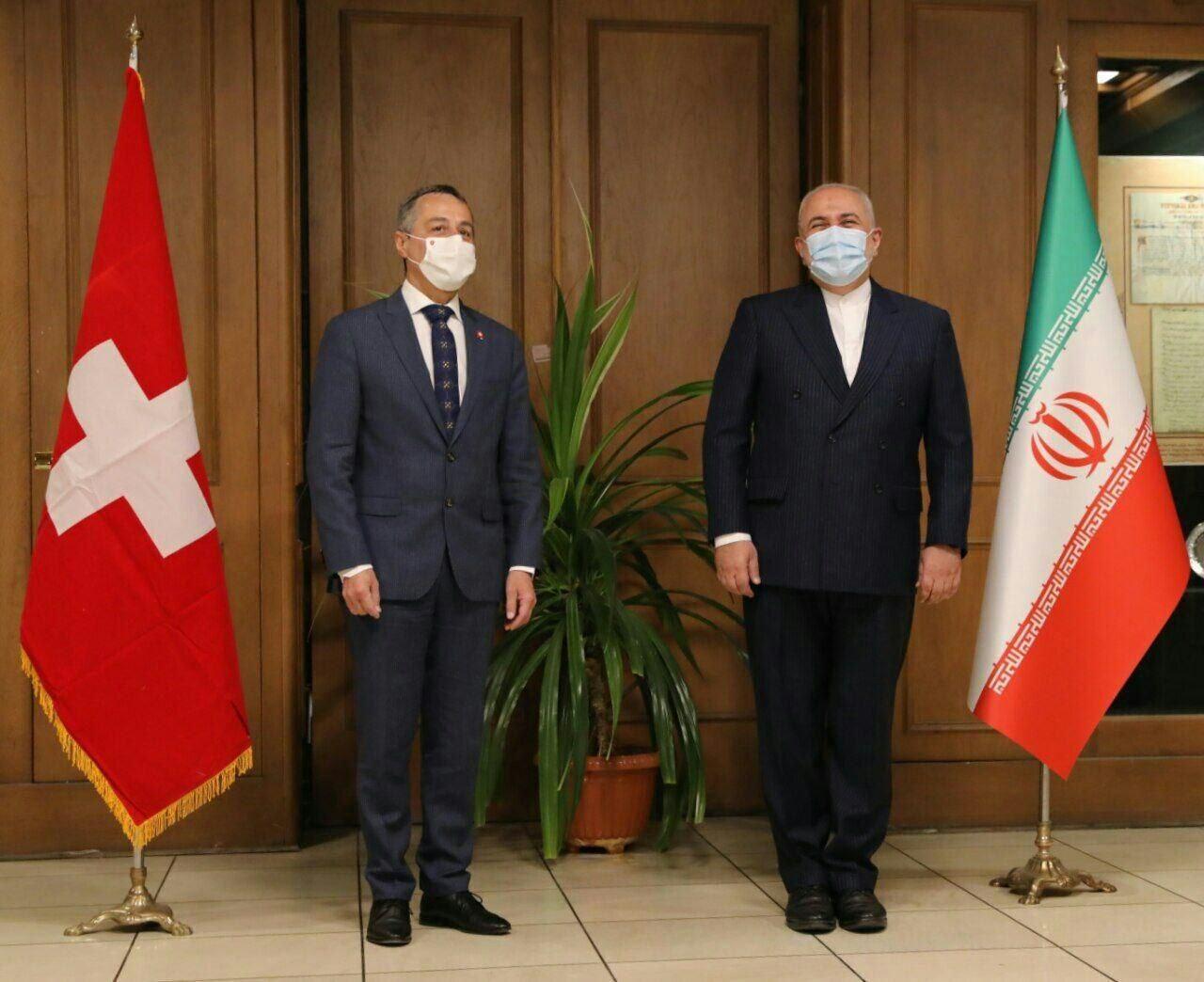 آغاز دور اول گفت وگو های محمد جواد ظریف و وزیر امور خارجه سوییس