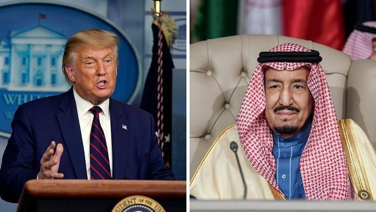 گفتگوی پادشاه عربستان و ترامپ؛ رابطه با اسرائیل بدون تشکیل کشور فلسطینی عادی نمیشود