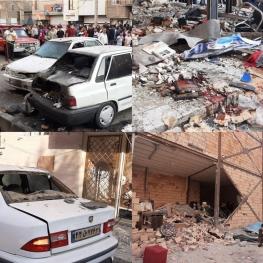 خسارت به ۲۰ ساختمان در پی انفجار یک باطری سازی