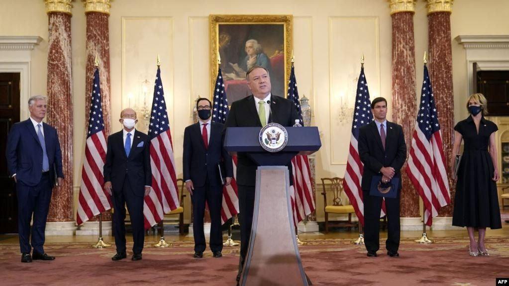 مکانیسم ماشه؛ آمریکا دهها فرد و نهاد مرتبط با برنامه هستهای و نظامی ایران را تحریم کرد
