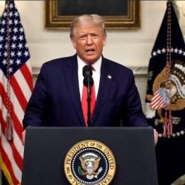 ترامپ : در حال جنگ با دشمن نامرئی هستیم