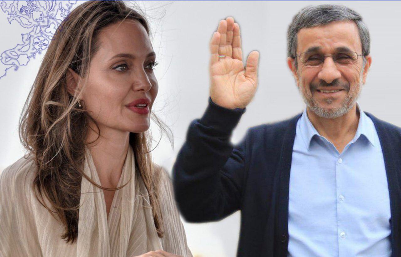 توییت احمدینژاد خطاب به آنجلینا جولی: با هم برای اصلاح جهان تلاش کنیم