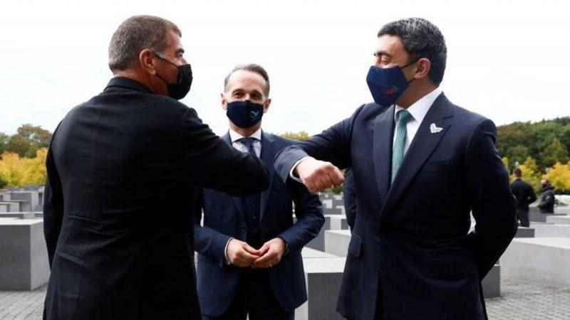 اولین دیدار رسمی وزیران خارجه اسرائیل و امارات در برلین