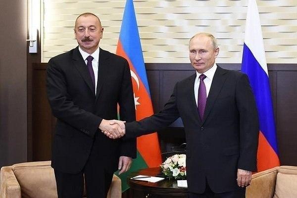 کرملین: پوتین و علیاف تلفنی گفتگو کردند