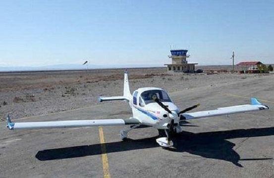 سقوط یک هواپیمای آموزشی فوق سبک در شهرکرد