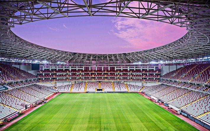 بازگشایی استادیومهای ترکیه با ظرفیت ۵۰ درصد