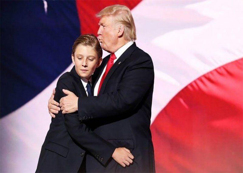 بارون ترامپ، پسر کوچک ترامپ به ویروس کرونا مبتلا شد