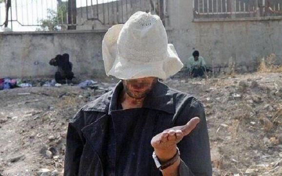 متکدی میلیاردر در قزوین روانه زندان شد