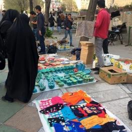 کرونا آمار دستفروشان تهران را افزایش داد