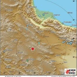 برخی گزارش ها حاکی است که زلزله ای به قدرت ریشتر ۵/۴در آوج رخ داده است
