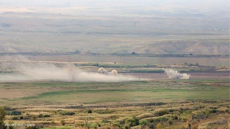 تیپهای مکانیزه سپاه پاسداران در مرزهای شمال غرب کشور مستقر شدند