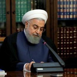 روحانی فرا رسیدن روز ملی ترکیه را تبریک گفت