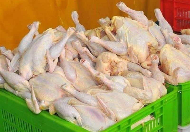 گرانفروشی علنی مرغ، ۵ هزار تومان بالاتر از نرخ مصوب