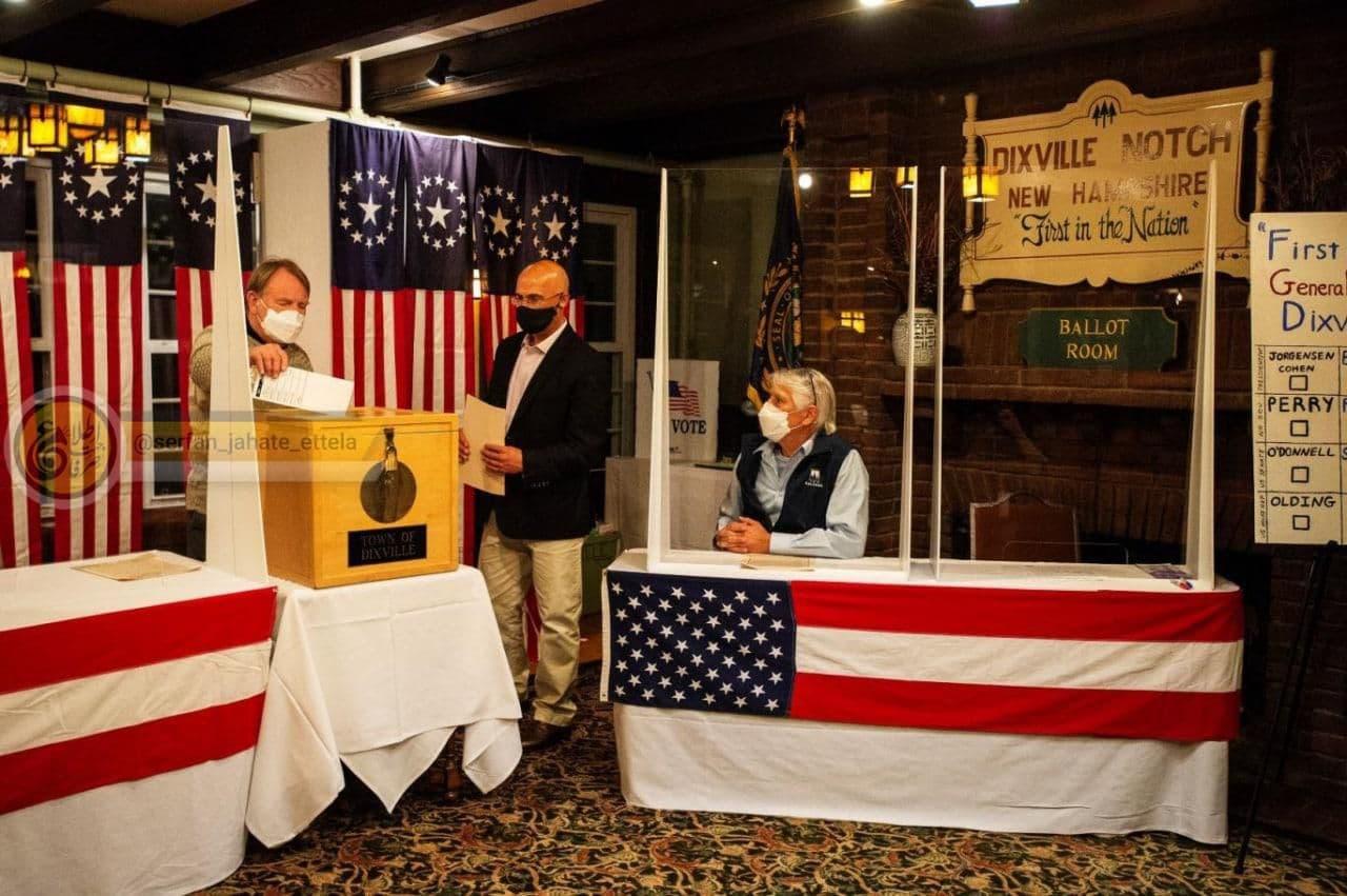 روستایی که انتخابات آمریکا از آن آغاز میشود، بایدن را برگزید