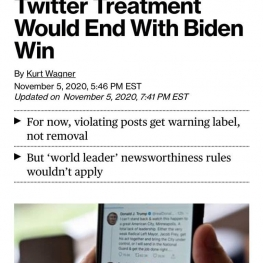 توییتر اعلام کرد  این شبکه اجتماعی به دلیل نقض مکرر قوانینش حساب ترامپ را خواهد بست.