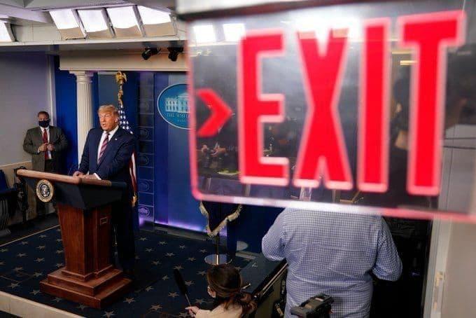 عکس آسوشیتدپرس از دونالد ترامپ