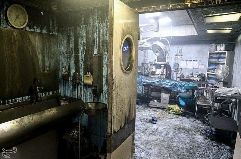 معرفی ۱۷ مقصر در آتشسوزی کلینیک سینا اطهر تهران