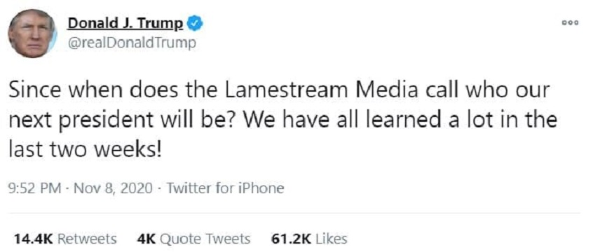 حمله ترامپ به رسانهها