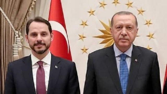 داماد اردوغان از ریاست وزارت دارایی ترکیه استعفا کرد