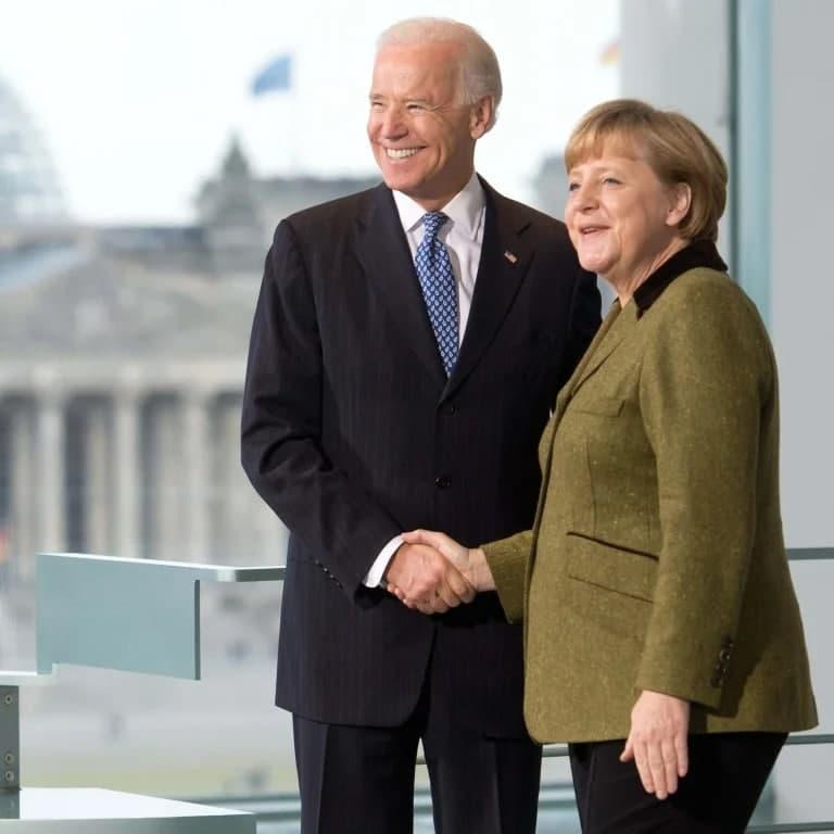 """صدراعظم آلمان پیروزی جو بایدن را """"از صمیم قلب"""" تبریک گفت"""