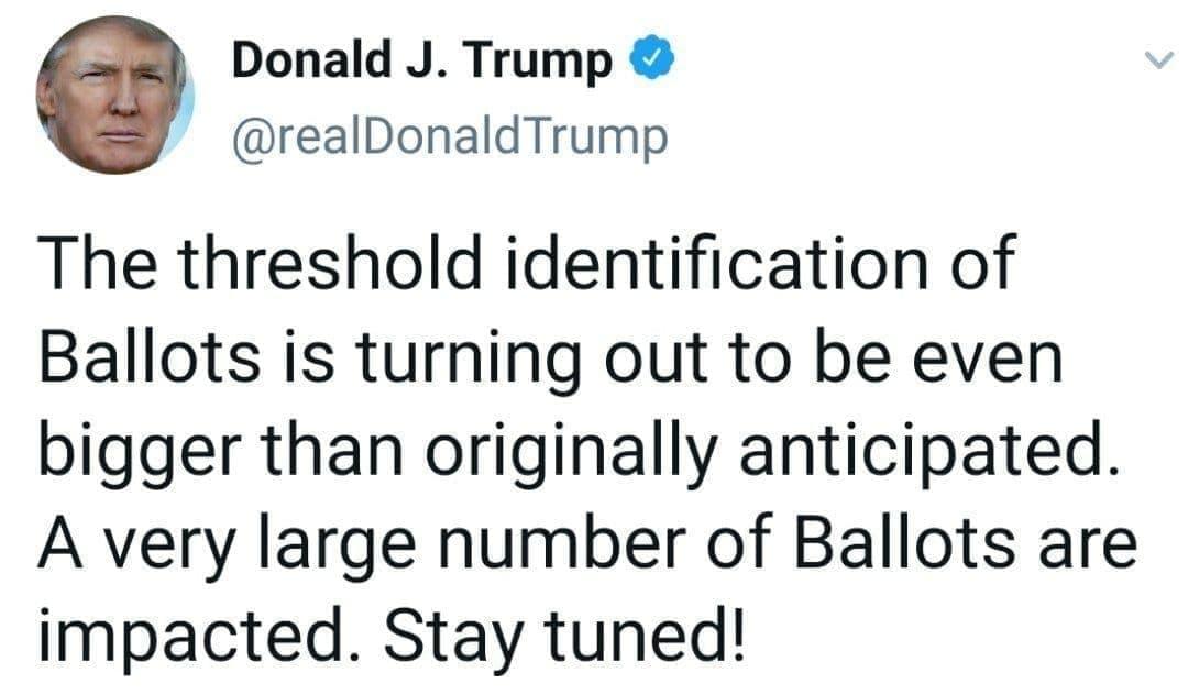توییت جدید ترامپ : گوش بزنگ منتظر خبر جدید باشید.