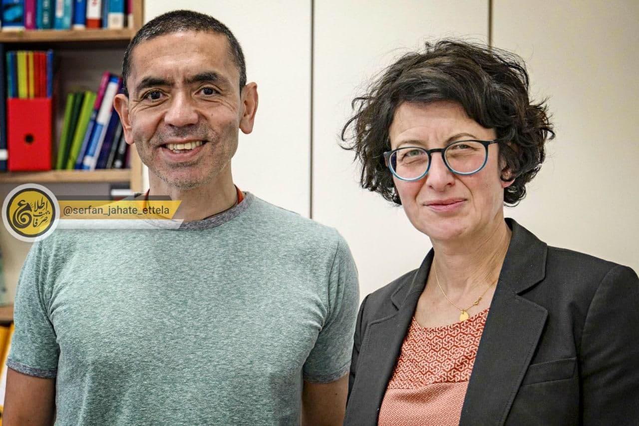 دو دانشمند ترک تبار، کاشف واکسن کرونا