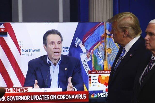 ترامپ: به نیویورک فعلا واکسن نمیدهیم