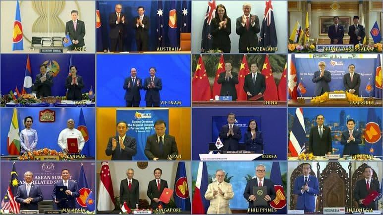 با حمایت چین و در غیاب آمریکا؛ بزرگترین اتحادیه تجارت آزاد جهان تشکیل شد