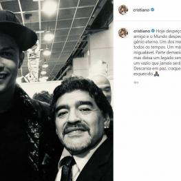 واکنش رونالدو به درگذشت مارادونا