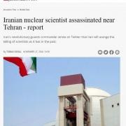 رسانه جروزالم پست: دانشمند هستهای ایران نزدیک تهران ترور شد