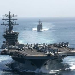 «بازگشت ناو هواپیمابر نیمیتز» به خلیج فارس