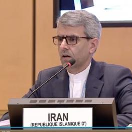 نامه نمایندگی دائم ایران در ژنو به اعضای جنبش عدم تعهد در مورد ترور دکتر فخری زاده