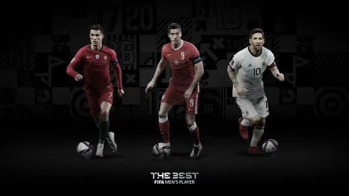 فیفا نامزدهای نهایی مرد سال فوتبال جهان ۲۰۲۰ را معرفی کرد