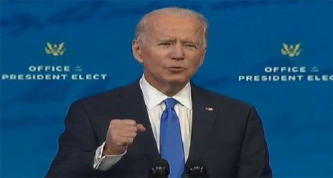 جو بایدن با ۳۰۶ رای نمایندگان کنگره و سنا (برگزینندگان) به عنوان رئیس جمهور جدید امریکا انتخاب شد.