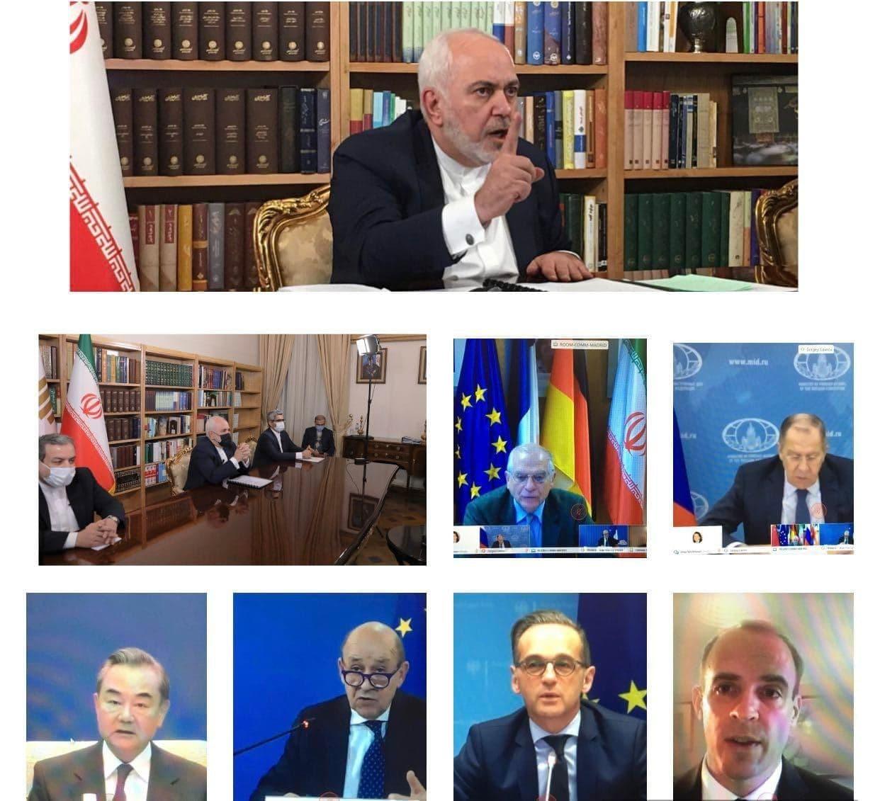 بیانیه مشترک وزیران خارجه ایران و ۱+۴ درباره برجام