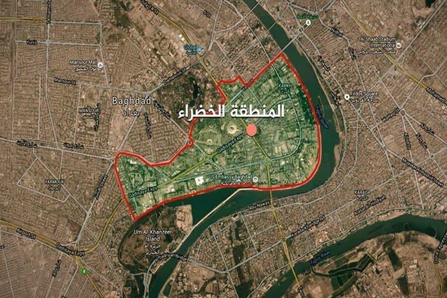 منطقه سبز در بغداد تحت تدابیر شدید امنیتی قرار گرفت