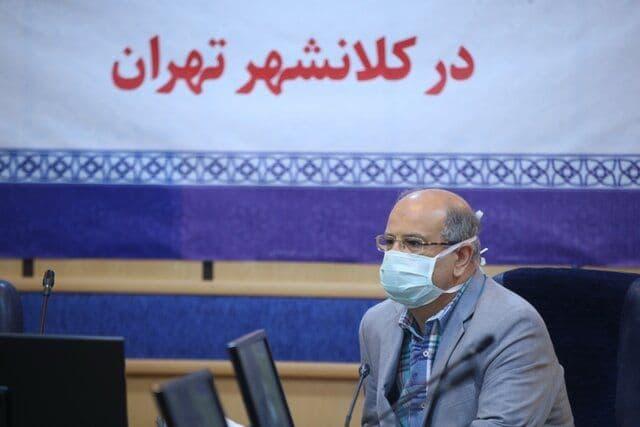 تهران همچنان در وضعیت نارنجی