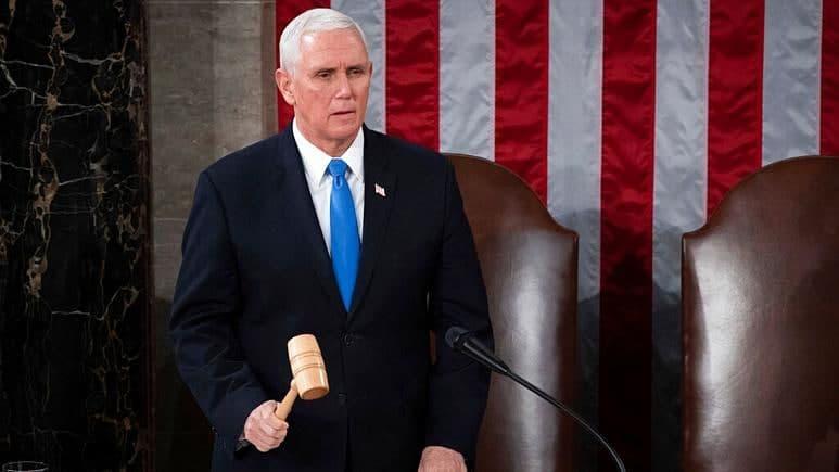 سرویس مخفی مایک پنس را از ساختمان کنگره خارج کرد