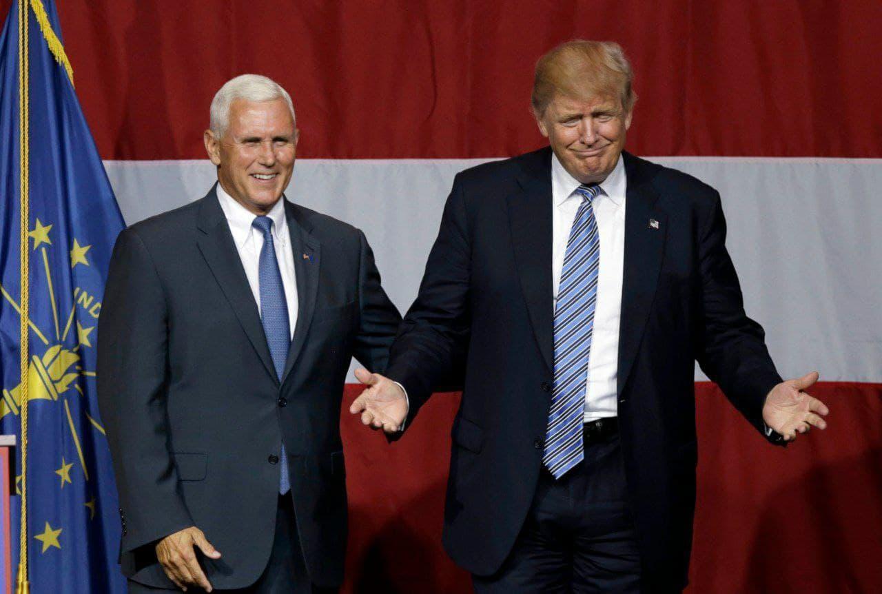 مخالفت پنس با برکناری ترامپ از ریاست جمهوری