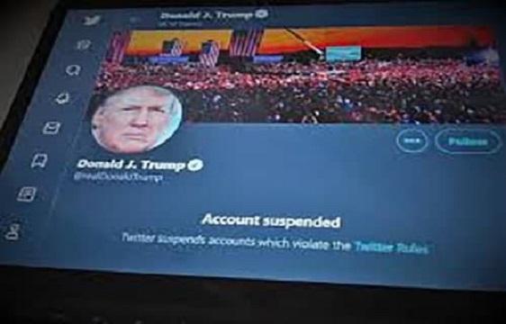 توییتر صفحه ترامپ را بست
