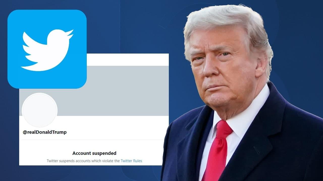 توییتر توییتهای ترامپ از حساب کاربری دولتی را هم حذف کرد