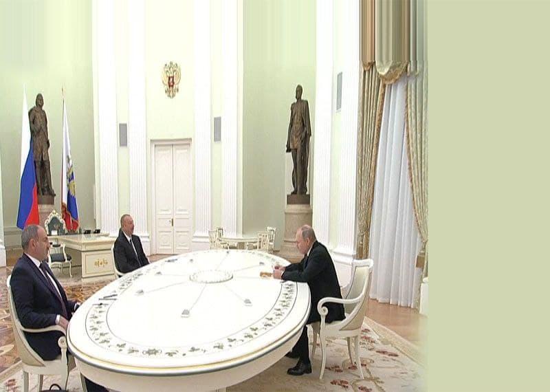 نشست سه جانبه درباره قره باغ به میزبانی روسیه