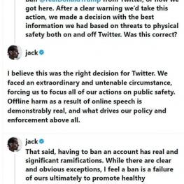 توئیتر: به مسدود کردن حساب دونالد ترامپ افتخار نمیکنیم