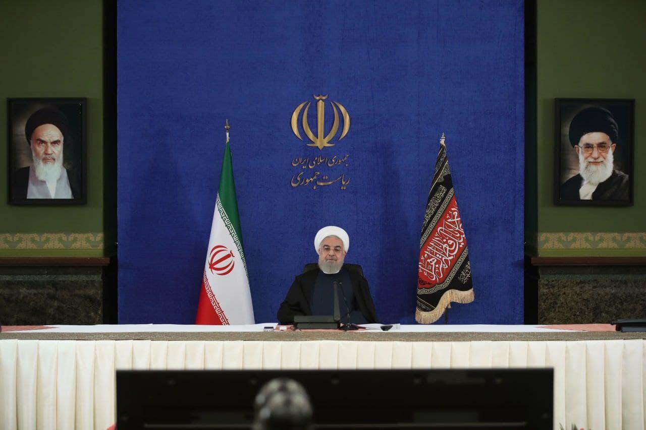 روحانی در مراسم آغاز بهره برداری از طرحهای ملی مناطق آزاد و ویژه اقتصادی؛