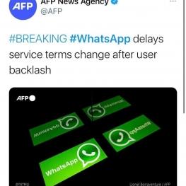 واتساپ عقبنشینی کرد