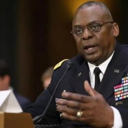 گزینه وزارت دفاع بایدن از سنا رای اعتماد گرفت