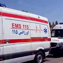 تصادف اتوبوس با کامیون در حوالی شهرری ۲۲ مصدوم بر جا گذاشت