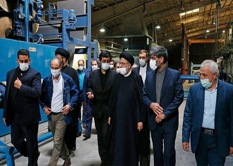 مشکل بزرگترین کارخانه نساجی خاورمیانه با ورود دستگاه قضایی حل شد.