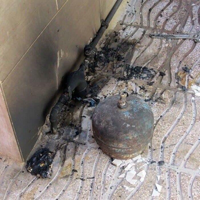 انفجار کپسول گاز در نارمک