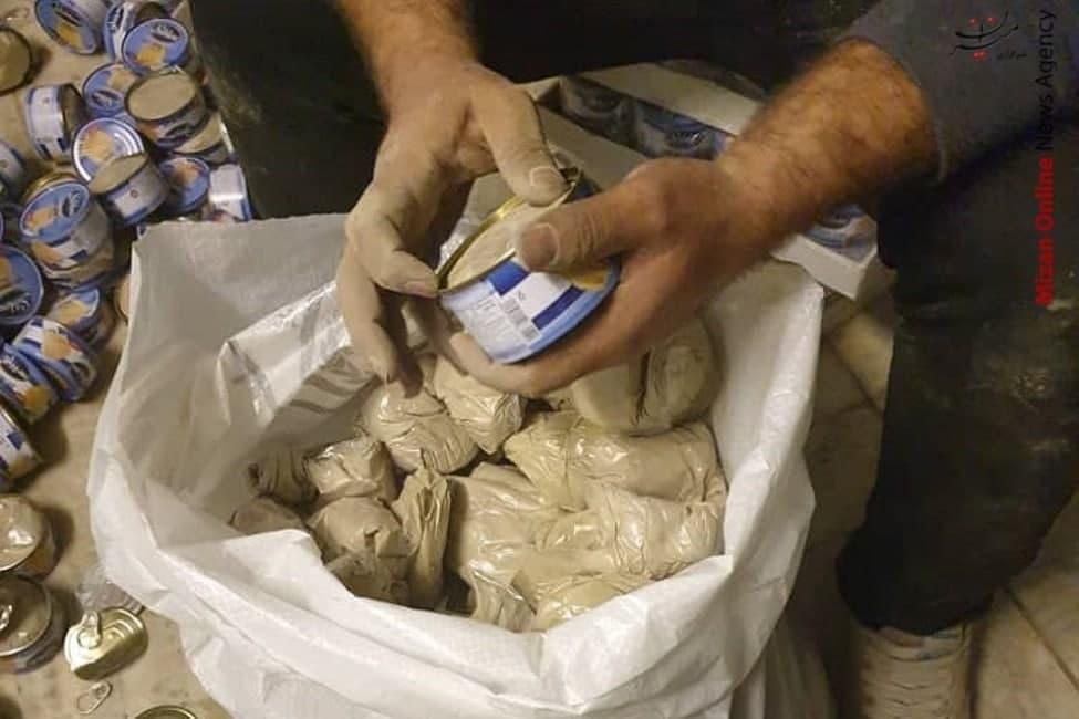 کشف محموله ۵۶۰ کیلوگرمی مرفین در پوشش کنسرو تن ماهی